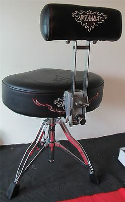 USED TAMA DRUM THRONE with Back Support