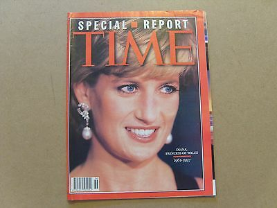 TIME MAGAZINE SPECIAL - 8th SEPTEMBER 1997 - DIANA, PRINCESS OF WALES 1961-1997