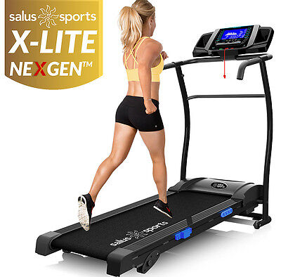 X-LITE NEXGEN TREADMILL - Adjustable Incline Motorised Folding Running Machine