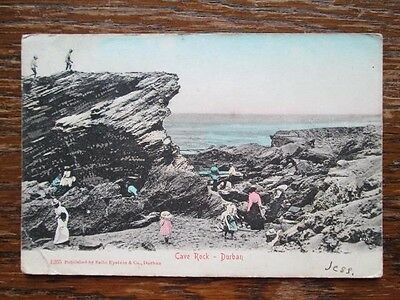 Cave Rock, Durban, South Africa - Sallo Epstein & Co, Durban (1906) People