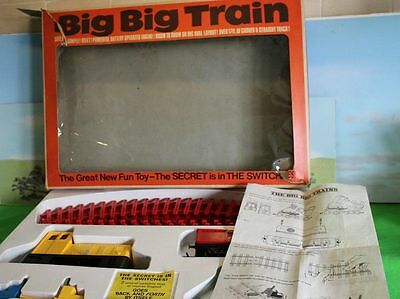 Triang Rovex Big Big Train Set Boxed Rv282 Switcher Great Condition