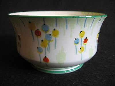 """ART DECO COLLINGWOODS HAND-PAINTED 'BALLOONS' #5836 5"""" OPEN SUGAR BOWL 30's EX"""