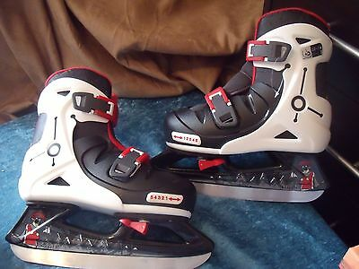 Oxelo Ice Play5 Adjustable Ice Skates Size Uk13 To Uk3  Eu 32-36