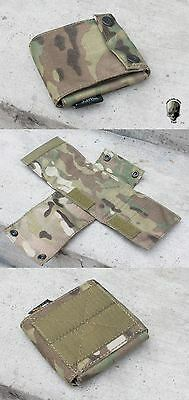 AIRSOFT  CORE OPS MICH AF TACTICAL HELMET COUNTER WEIGHT BAG POUCH mc MULTICAM