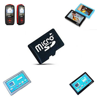 New Evo 16Gb Micro Sd Memory Card Upgrade For Evodigitals Ruizu Mp3 Mp4 Players