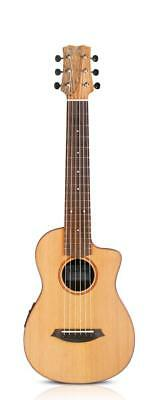Cordoba Mini SM-CE Travel Electro Classical Nylon Guitar & Case