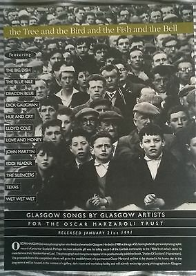 Music Press Advert  For The  Album 'glasgow Songs By Glasgow Artists''