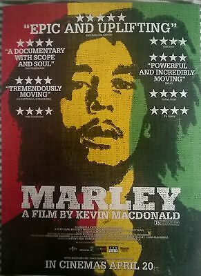 Music Press Advert  For The Movie 'marley' Documentary Of Bob Marley