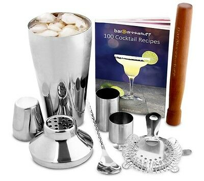 Manhattan Cocktail Set | Cocktail Shaker Set And Home Cocktail Making Kit New