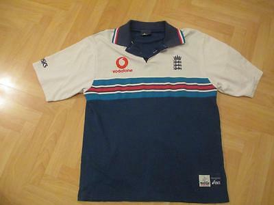 England Asics Cricket World Cup 1999 Vodafone shirt top adult size