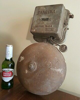 Massive vintage bell huge alarm school vintage antique collectable old cast iron