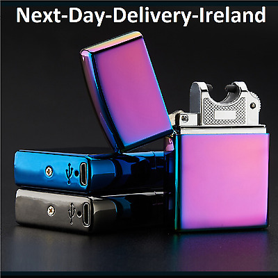 USB Rechargeable Electric Electronic LIGHTER ARC PULSE Flameless Plasma Torch
