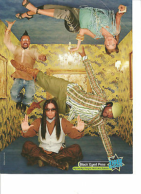 The Black Eyed Peas, Fergie, Full Page Pinup, The Pussycat Dolls