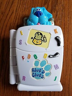 Fisher-Price Blues Clues Refrigerator Audio Learning Plastic Toy Works Great