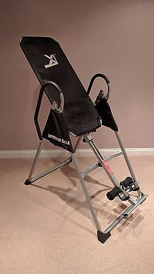 XI™ Inversion Table Pro Deluxe Fitness Chiropractic Exercise Back Reflexology.