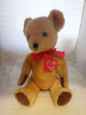 Large Dean's Vintage Fully Jointed Teddy Bear - Growler