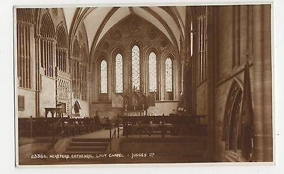 Hereford Cathedral, Lady Chapel, Judges 23386 Postcard, A992
