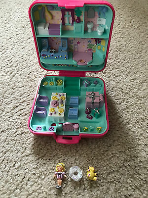 Polly Pocket mini Partytime surprise 1989 100% complete komplett playcase