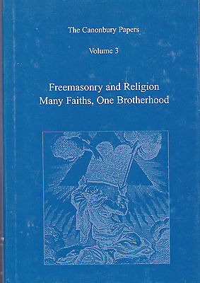 5970. Stewart - Freemasonry and Religion: Canonbury Papers V 3 London 2005