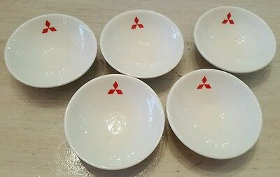 Set 5 Front of the House Mitsubishi Rice Sauce Herb Bowl Advertising/Promotional