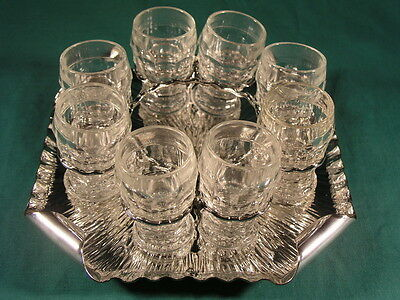 Antique Hukin & Heath Silver Plated Cocktail Set Stand