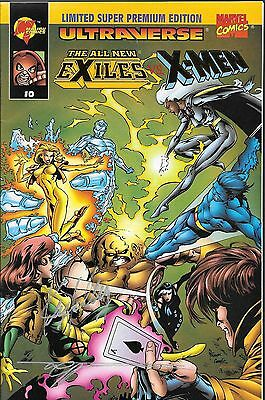 The All New Exiles vs. X-Men No.0 American Ent. Signed Edition with Certificate