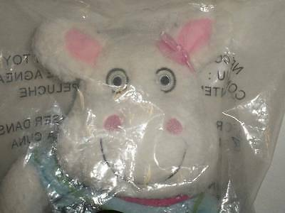 """Retired Avon Adorable Plush Tiny Tillia White And Pink Lamb 17"""" New In Packing"""