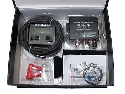 Dual Battery Management System 140A With Monitor Bonus Cooler + Free Postage