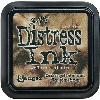 Ranger Tim Holtz Distress Ink Pad- Walnut Stain TIM-19534 NEW #11
