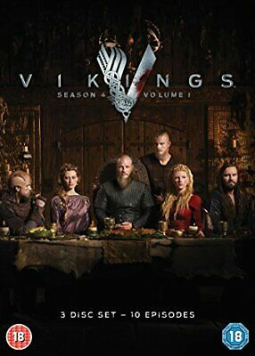 Vikings - Season 4 Part 1 [DVD] [2016] - DVD  SQVG The Cheap Fast Free Post