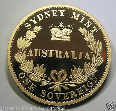 Cook Islands - 2005 $1 Silver Proof Coin - 1855 Sydney Mint Sovereign