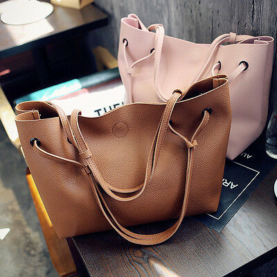 Women Leather Shoulder Messenger Purse Handbag Crossbody Satchel Tote Bag New
