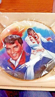 "Ernst Elvis Presley 10.5"" Plate ""forever Yours"" New In Box Authentic Collectible"