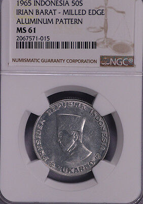 Ngc-Ms61 1965 Indonesia Irian Barat 50S Pn4