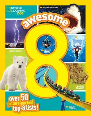 Awesome 8 (National Geographic Kids) (Paperback), National Geogra. 9781426323379