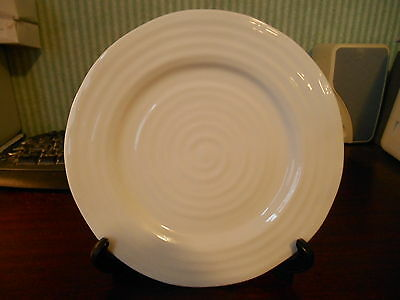 PORTMEIRION  SOPHIE CONRAN  SIDE PLATE  WHITE  NEW  8in DIAMETER