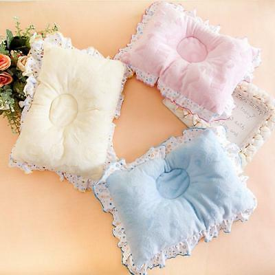 Newborn Baby Anti Roll Pillow Infant Sleep Prevent Flat Head Support Cushion CB