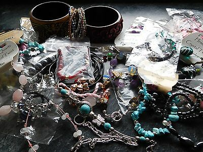Wholesale Job Lot 50 BN Fashion Costume Jewellery Bracelets  Car Boot  25p Each
