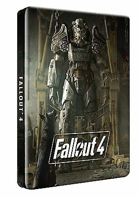 Fallout 4 Steelbook & Postcards  (New & Sealed)