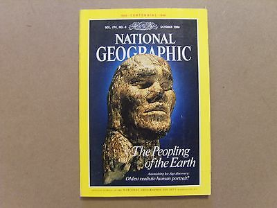 National Geographic Magazine - October 1988 - See Images For Contents