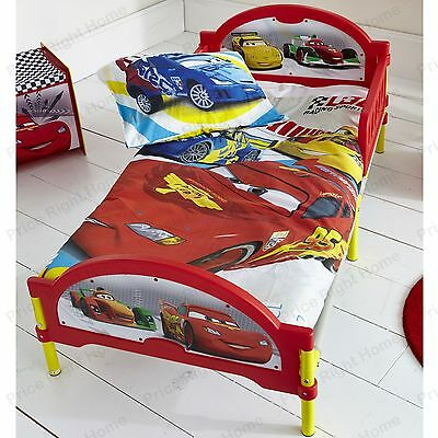 Disney Cars Cosytime Junior Toddler Bed New Official Bedroom Furniture