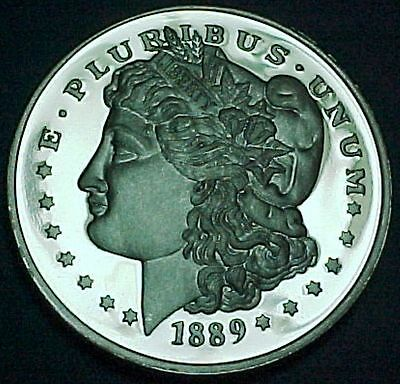 Fantasy Morgan Dollar Tribute Coin 1889CC Private Mint Novelty