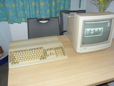 Commodore Amiga 500, made in Germany, unverbastelt, versiegelt  !!!