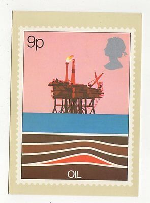 Energy Oil 1978 Postcard First Day Of Issue 254a
