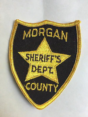 Morgan  County  Alabama  Sheriff  Shoulder Patch    Used