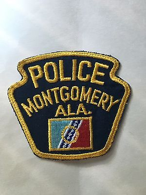 Montgomery  Alabama  Police  Shoulder Patch