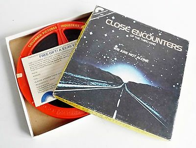 Very Rare Close Encounters Of The Third Kind Super 8 Movie Reel - Mint In Box