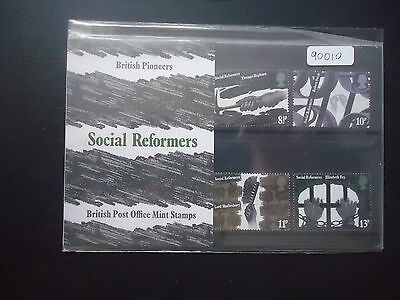 Great Britain 1976 Presentation Pack No79 Social Reformers MNH (90010)