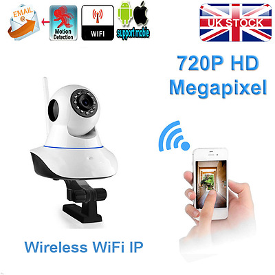 Wireless 720P HD IP Network Camera Baby Pet Monitor CAM Night Vision Indoor New