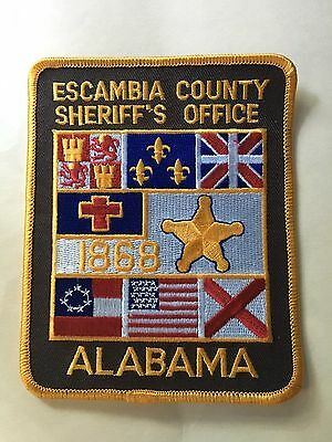 Escambia County  Alabama  Sheriff  Shoulder Patch